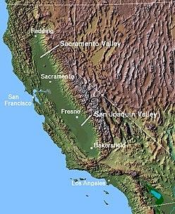 دره ساکرامنتو مهد گردوی جهان
